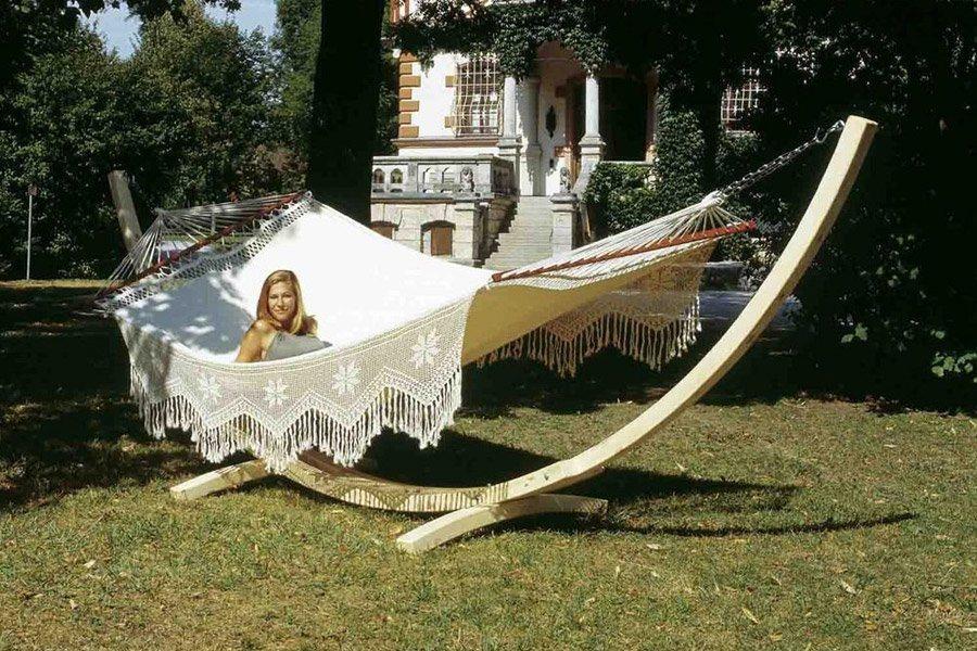 Camas de rede de jardim decora o da casa for Hamacas para el jardin
