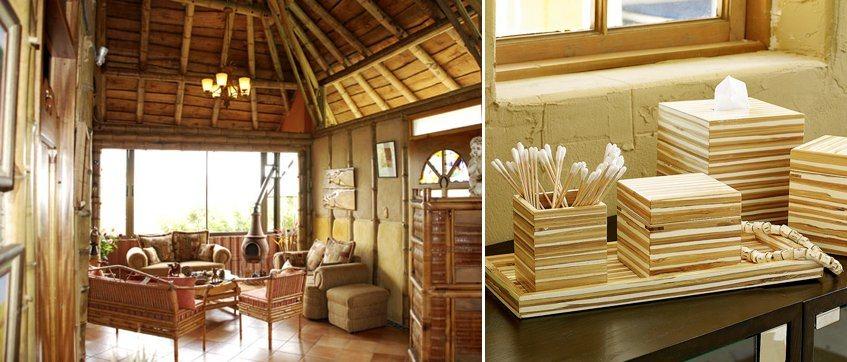 Ideias para decorar com bambu decora o da casa - Bambu decoracion interior ...