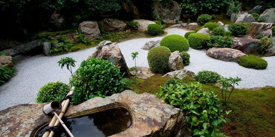 decoracao jardim pedras:Jardins Zen, a última tendência em decoração exterior. Decoração