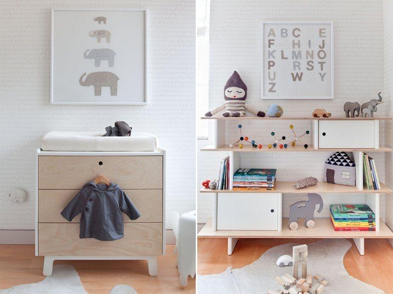 Ideias para um quarto de bebé elegante e doce Decoração da casa