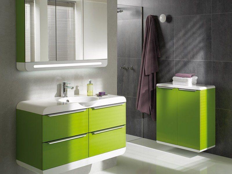 Inspira o nas casas de banho decora o com verde ii for Banos comodos y modernos