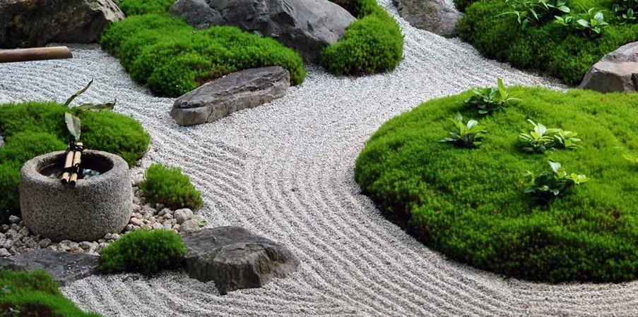Jardins zen a ltima tend ncia em decora o exterior decora o da casa - Giardini zen da esterno ...