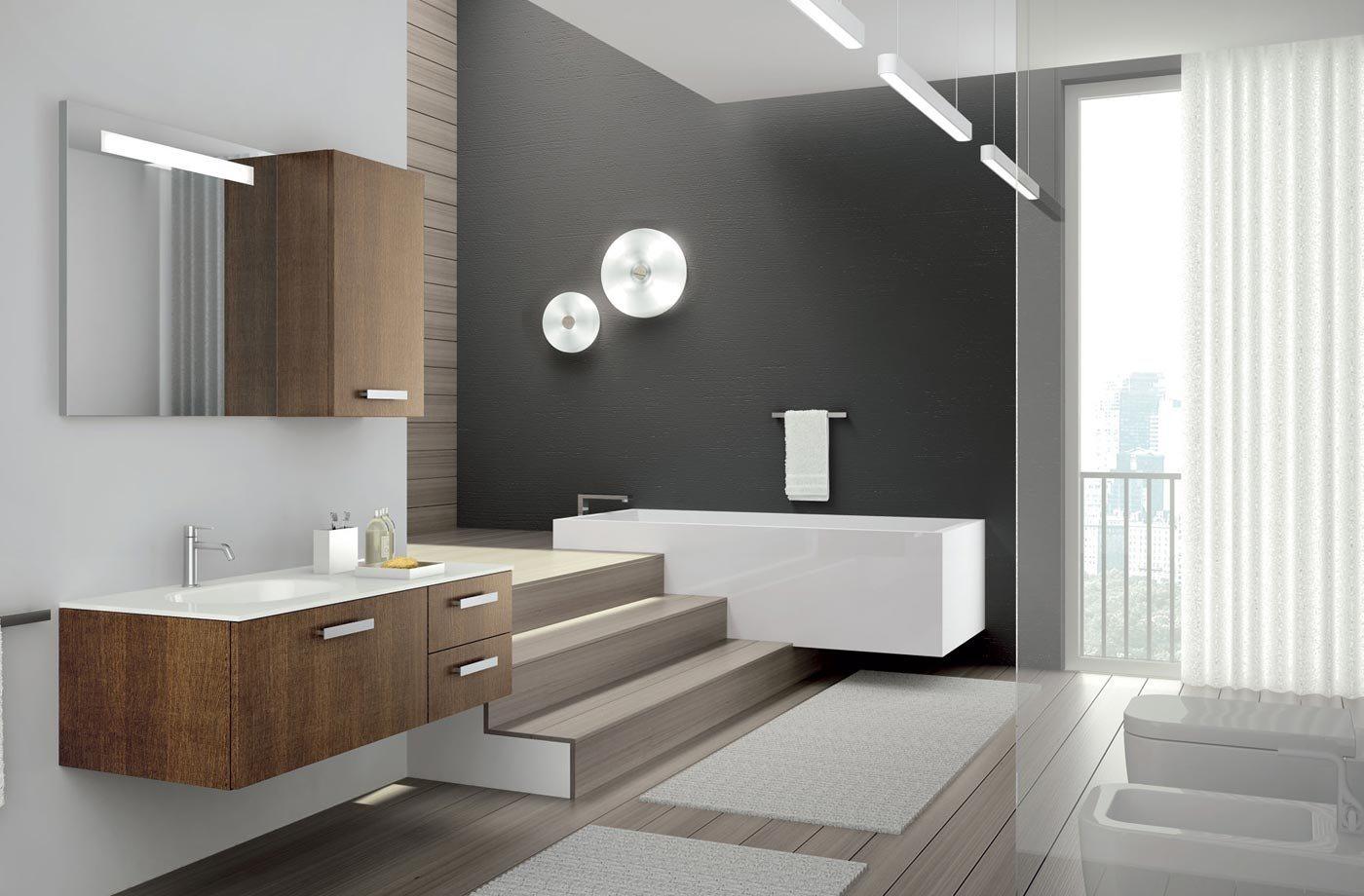 Lavat rios de design moderno da empresa altamarea - Cuartos de bano minimalistas ...