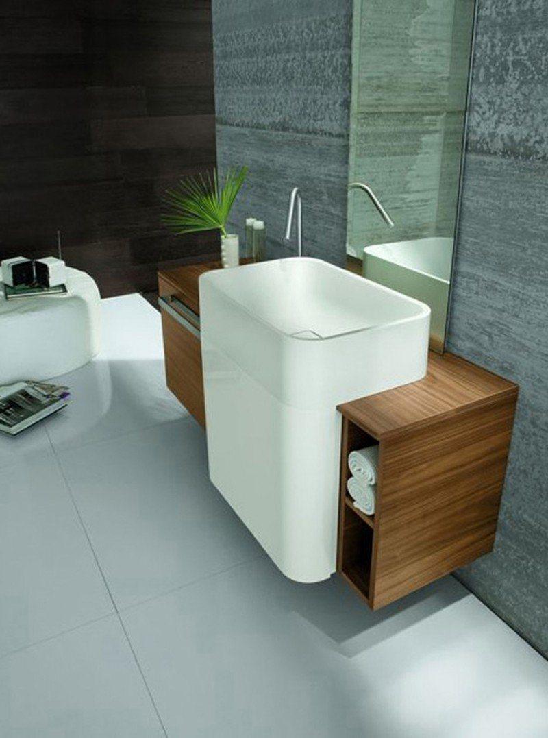Lavatórios de design moderno da empresa Altamarea Decoração da casa -> Lavatorio Banheiro Moderno
