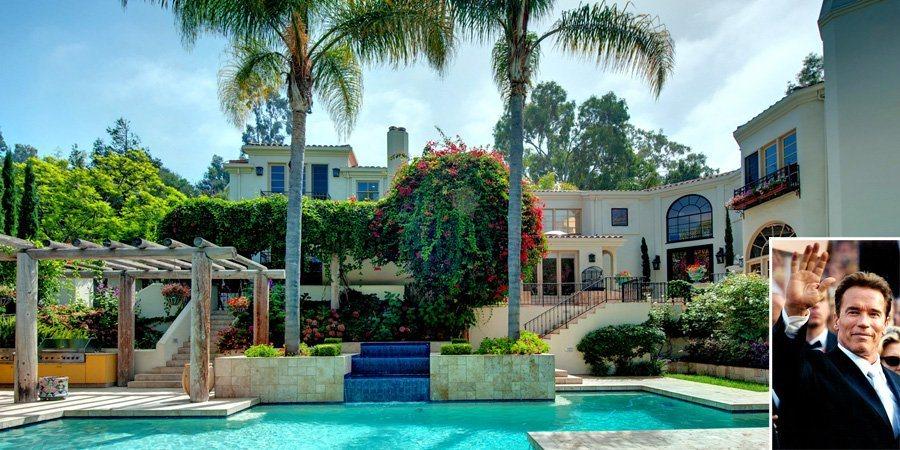 Antiga mans o de arnold schwarzenegger na calif rnia for Casa mansion los jardines havana