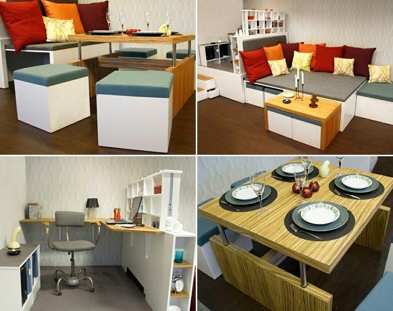 Matroshka decora o compacta para casas pequenas - Casas de muebles ...