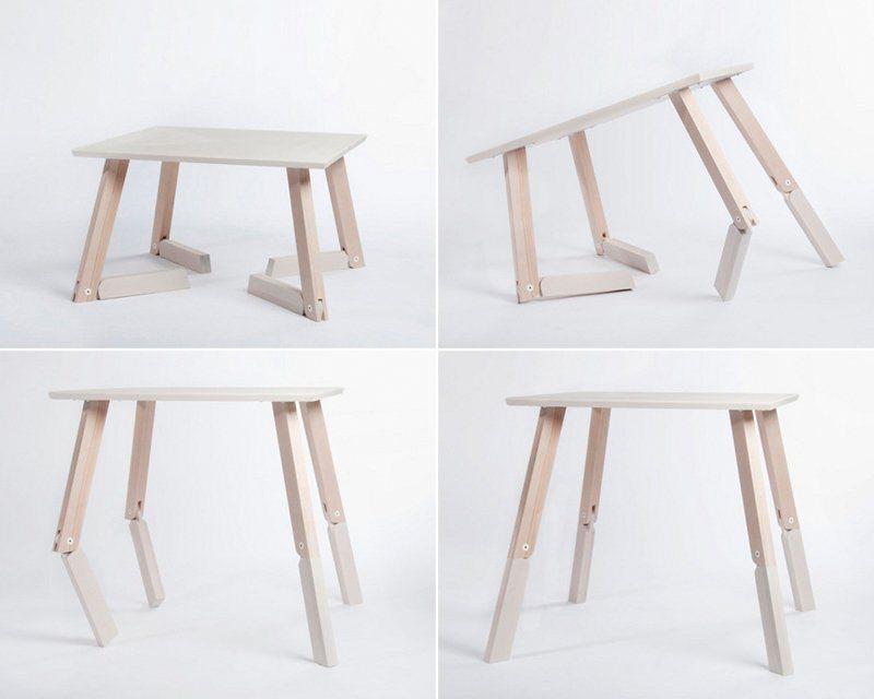 Mesa bambi a mesa dobr vel articulada decora o da casa - Mesa plegable pequena ...