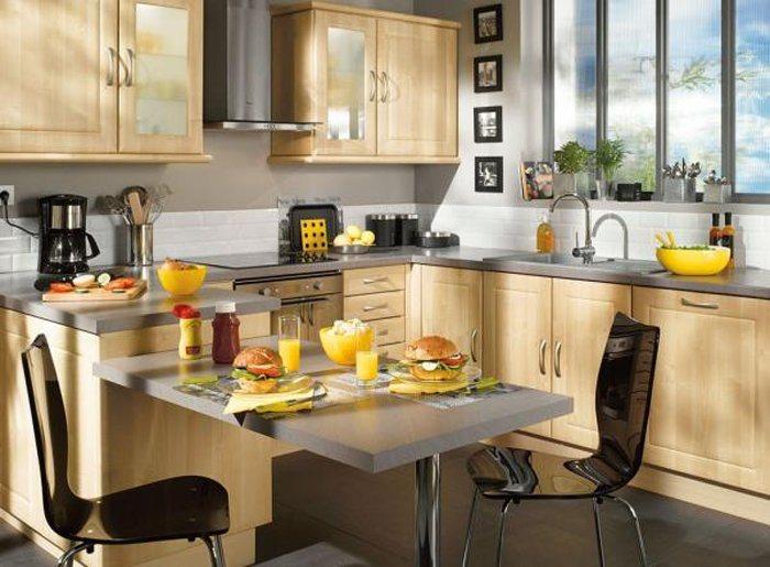 Conselhos para escolher a mesa da cozinha decora o da casa for Cocinas pequenas decoradas modernas
