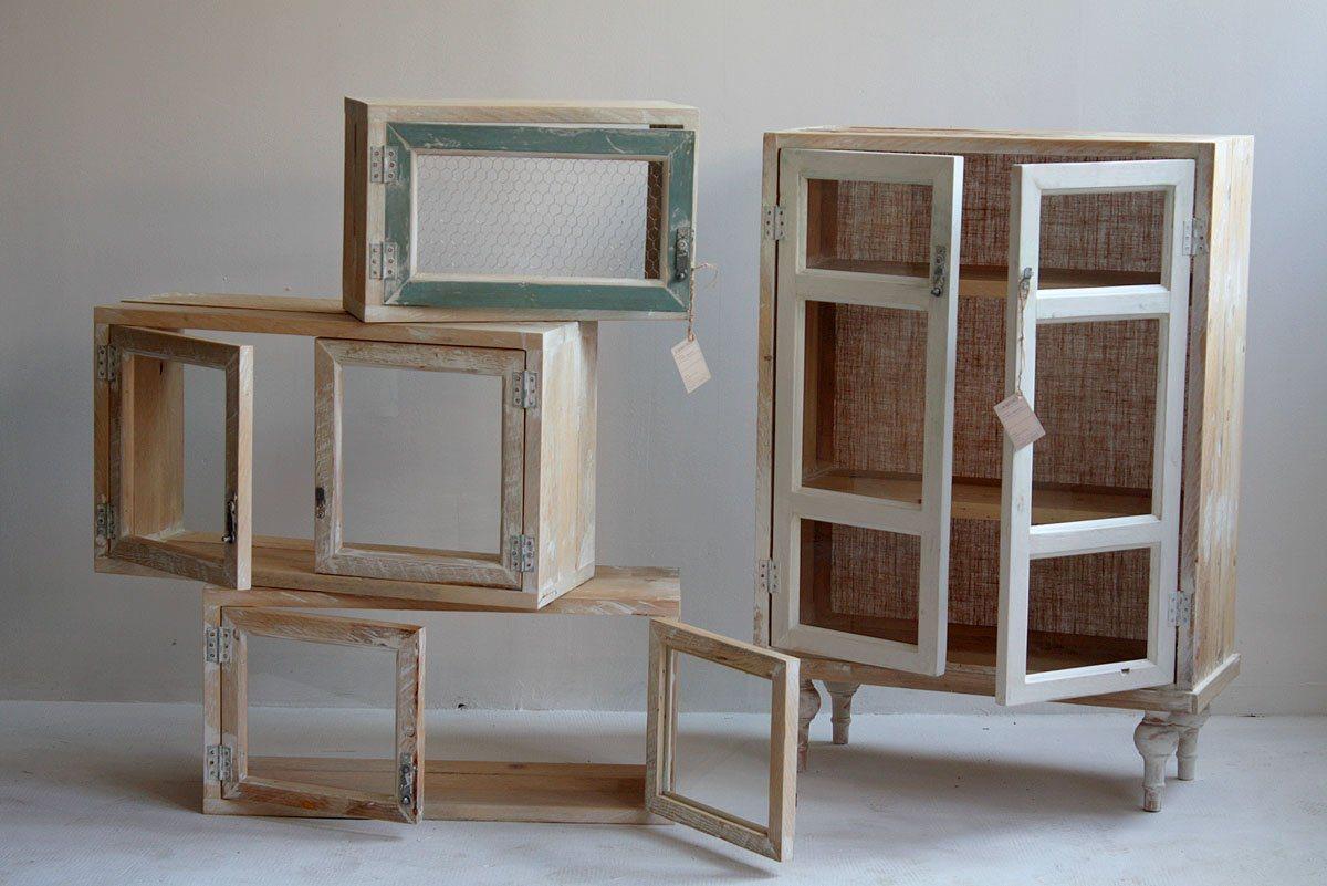 Móveis reciclados da Segnomaterico. Decoração da casa. #462F20 1200x801