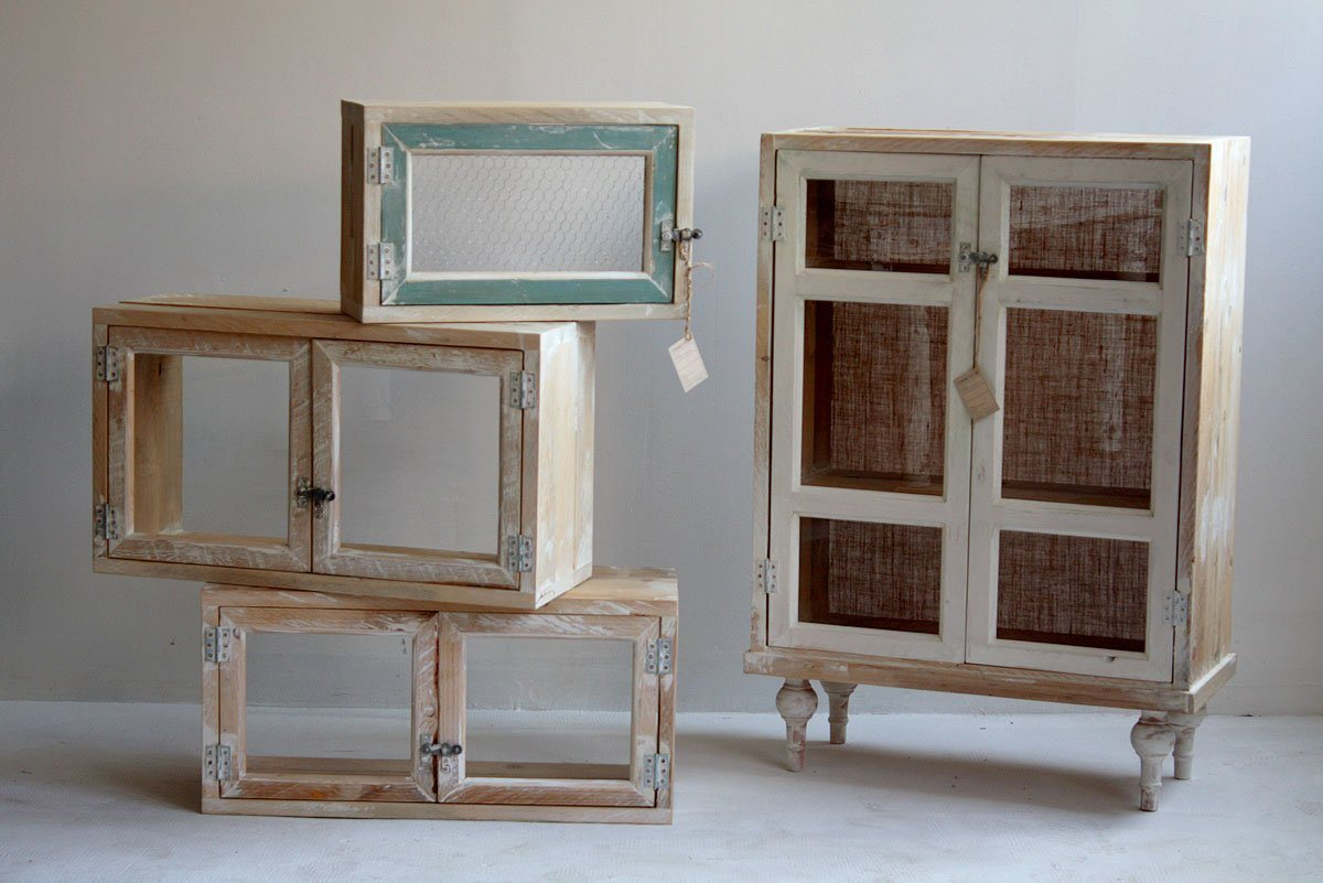 Móveis reciclados da Segnomaterico. Decoração da casa. #412A1F 1200x801