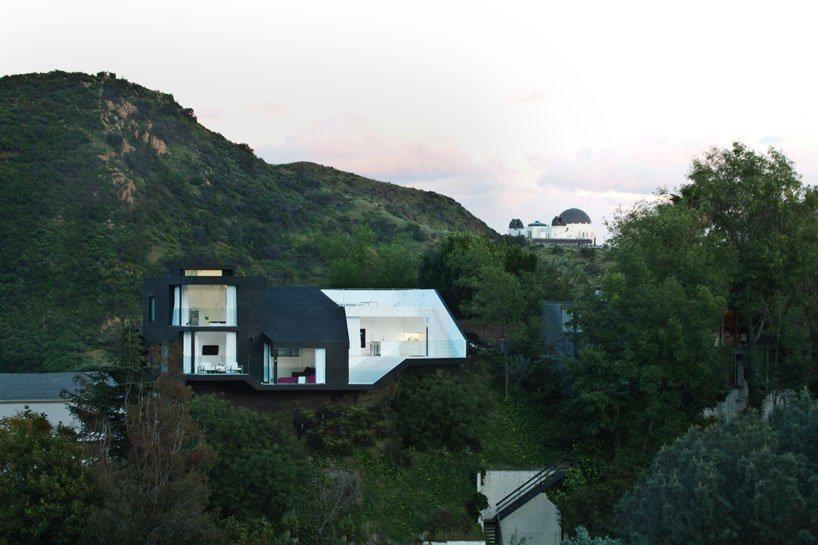 Galeria da arquitetura moderna da casa nakahouse for Casas modernas hollywood