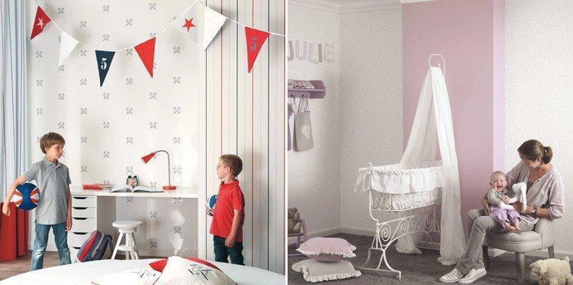 Papel de parede infantil casadeco decora o da casa for Papel decorativo para habitaciones