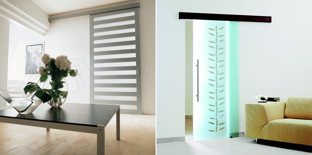 Portas de correr para o interior de nosso lar decora o for Puertas corredizas modernas