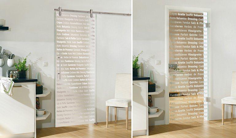 Bartels Doors Para Uma Cozinha Moderna  As Suas Portas De Vidro