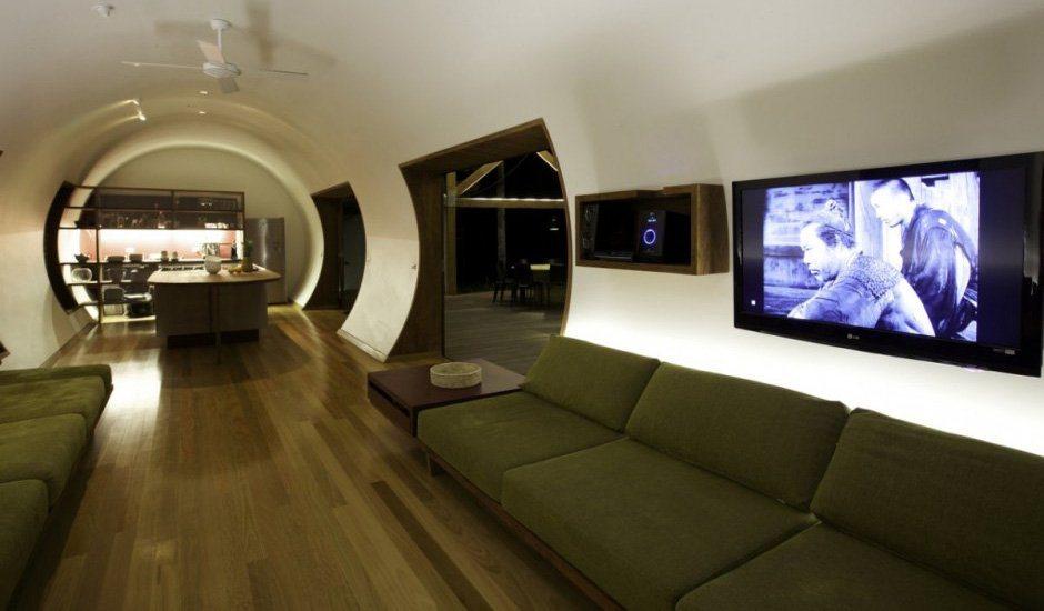 decoracao de interiores de casas de luxo:Cabana de luxo na Austrália. Decoração da casa.