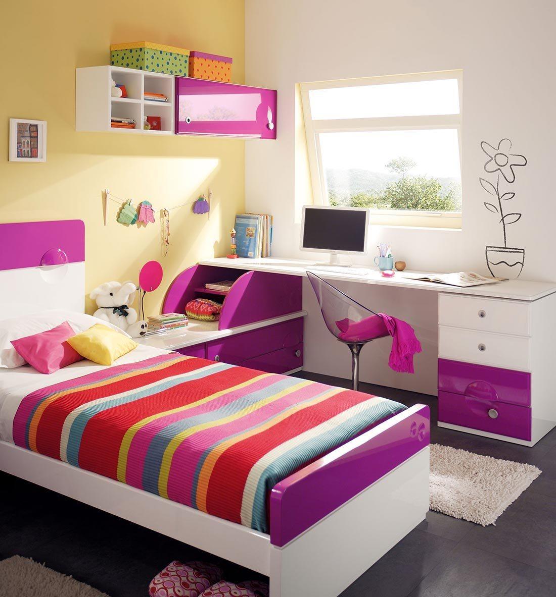 Quartos juvenis da empresa juraco decora o da casa for Opciones para decorar un cuarto