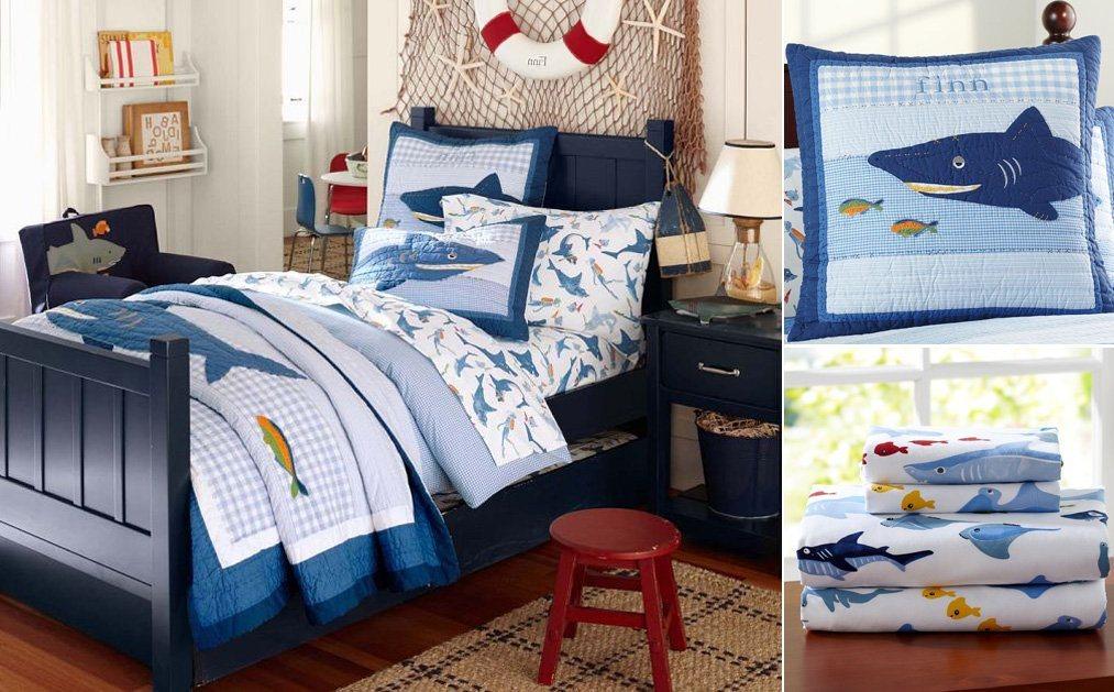 Quartos infantis de estilo marinheiro decora o da casa - Habitaciones infantiles marineras ...