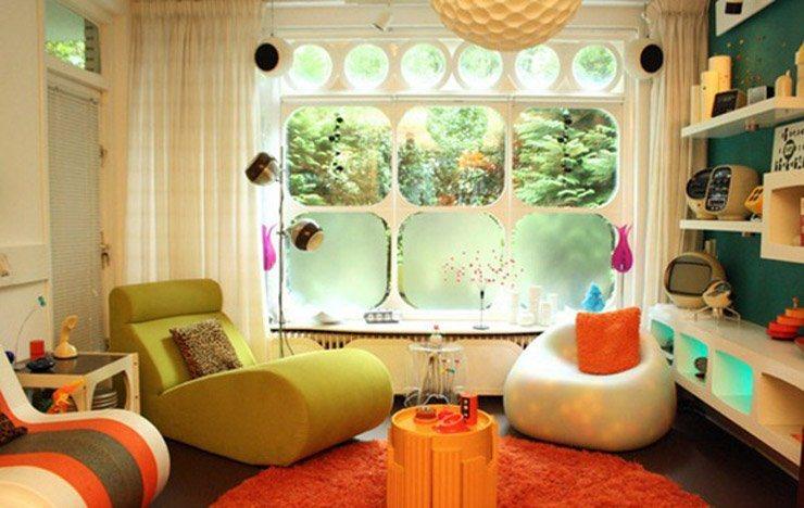 decoracao de sala retro:love Retro! Alegra a tua casa com o divertido e elegante toque vintage