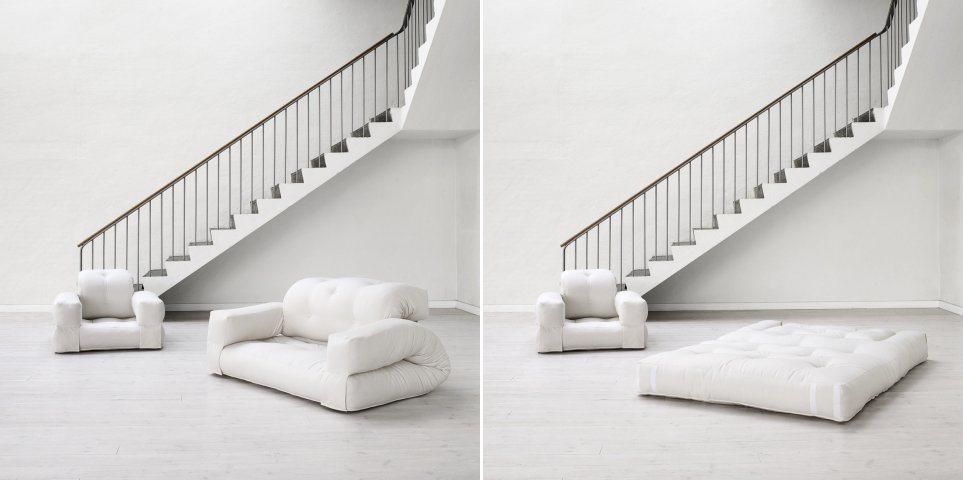 Sof cama hippo decora o da casa - Sofa cama minimalista ...