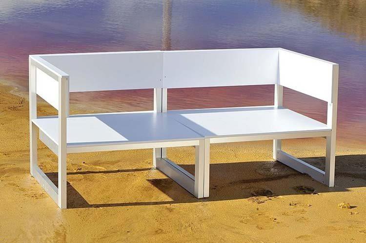 Sof s de design para o exterior decora o da casa for Sofa chill out exterior