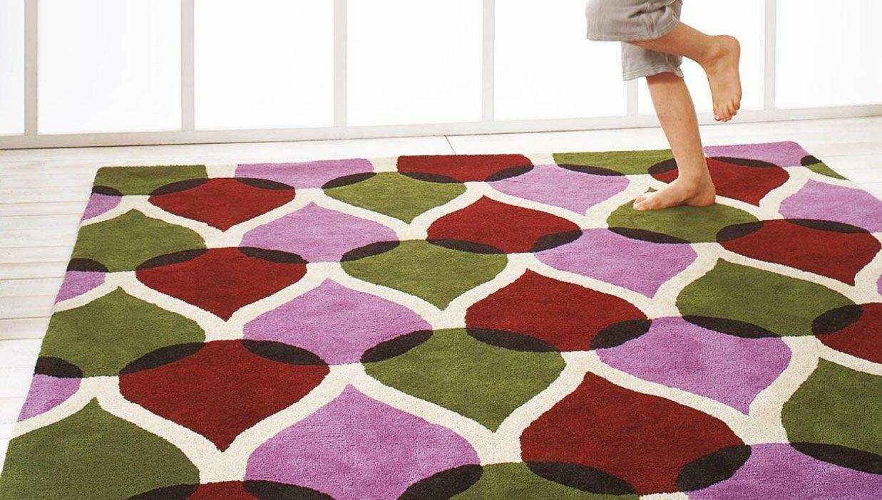 Tapetes modernos personaliz veis kilopond decora o da casa Alfombras grandes modernas