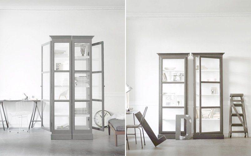 Adiciona eleg ncia com vitrinas de vidro decora o da casa - Vitrinas para casa ...
